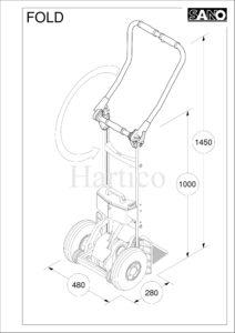 Лестничная тележка Liftkar SAL 110 Fold