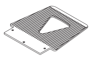 Standard toeplate