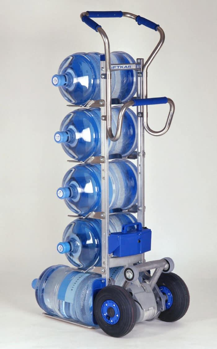 Vandens butelių keltuvas